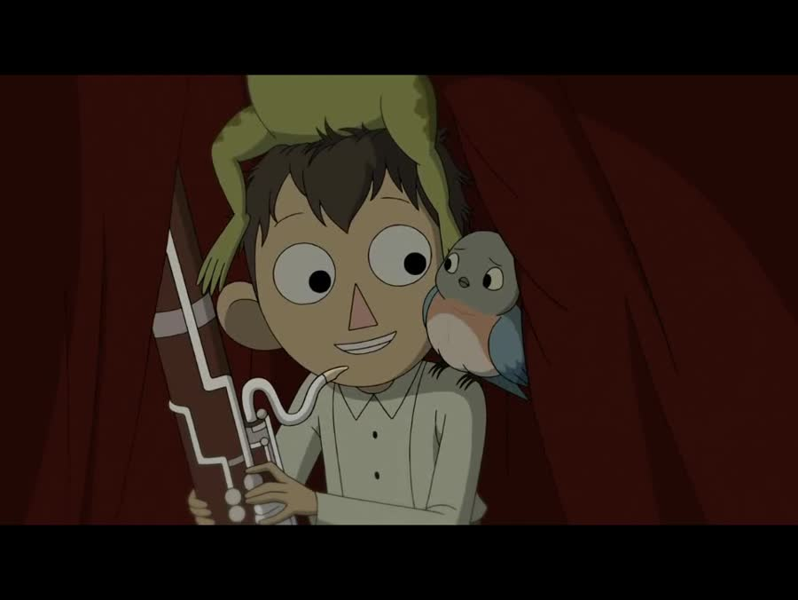 Over The Garden Wall. .. This show is so god damn cute! I cried a little bit at the end.