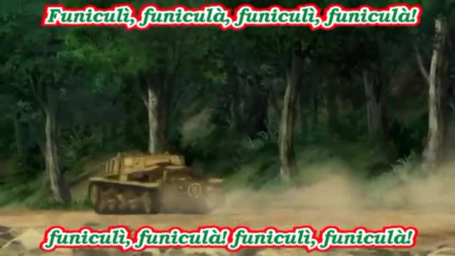 Girls und Panzer Comp: Using Pasta Sauce as Tank Fuel. Source Previous GuP Comp. >Anzio mentioned >Swell with pepperoni being a cute, a lack of CV CCs, and cardboard