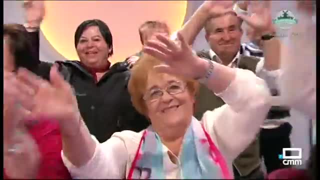 """Old People Dancing on Spanish TV. So, here is Ramon Garcia (aka Ramonchu) with old people dancing as they listen the word """"Benidorm"""", which is the nam"""