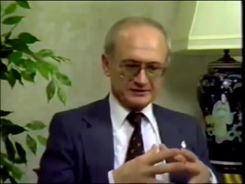 Yuri Bezmenov. .. At least I have a well paid job, unlike you. The socialists are always the loser who can't cut it in a direct competition. It's always the same . But that's ok