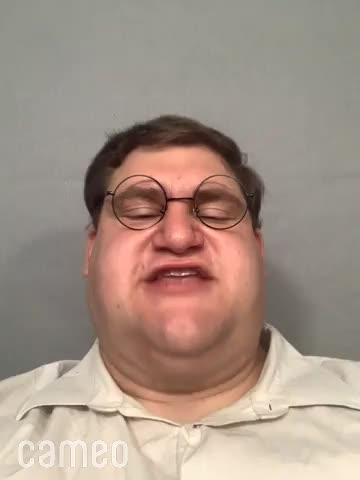 Peter Griffin has a message for you. .. Fun Fact: this dude is actually running a go fund me campaign atm so he can afford plastic surgery and get peters ball sack chin! Link for anyone interested: I
