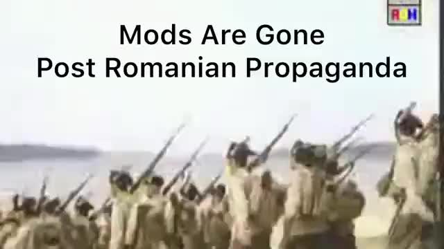 Mods are gone. .