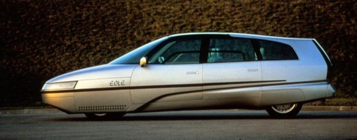 1986 Citroën Eole. .. looks like a Pontiac Trans Sport with the Down's syndrome