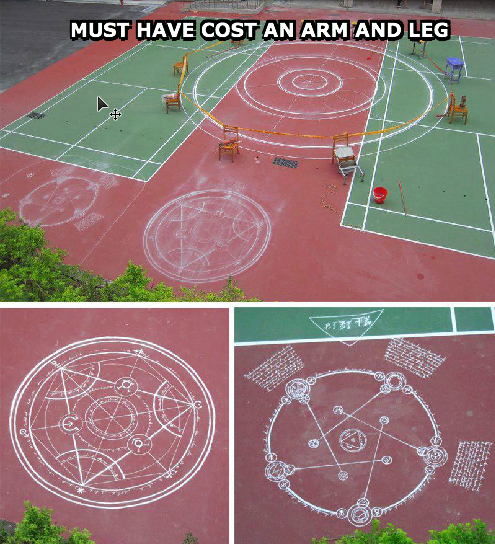All that chalk.... Ba-Dum-Tss Not sure if its been posted on the site yet, but by FSM this was hilarious... This post made me this happy.