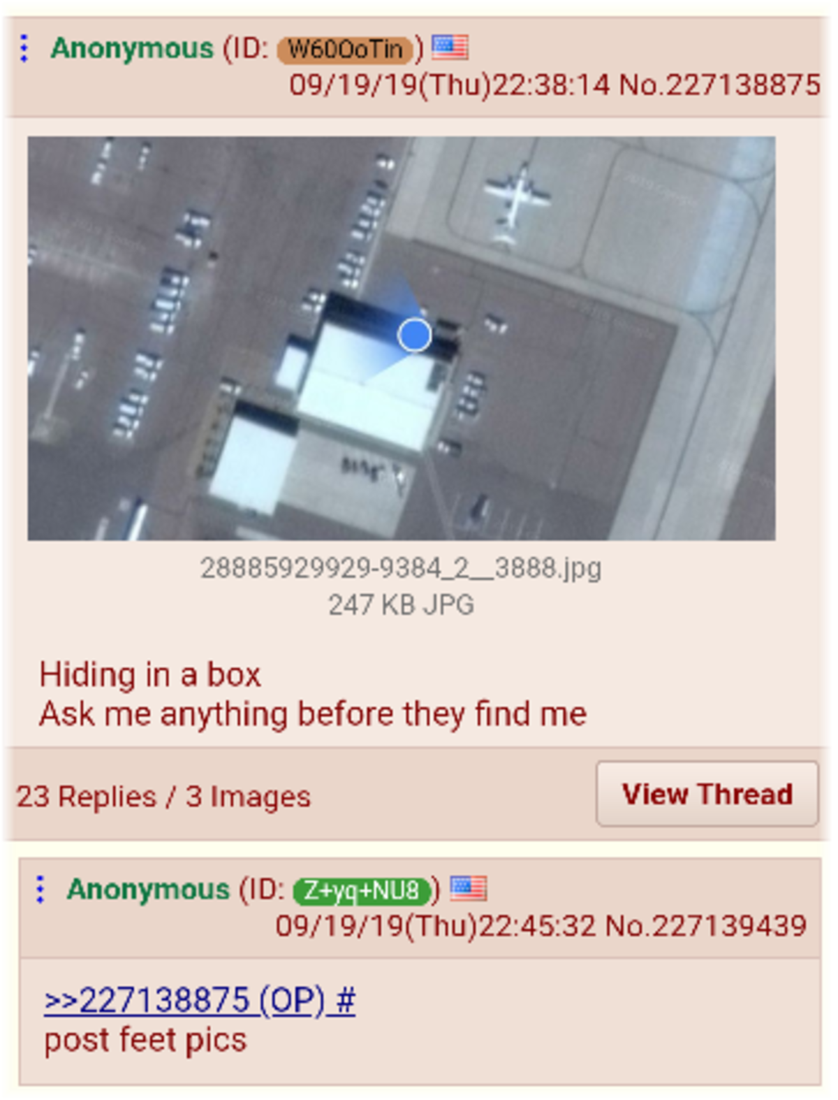 Anon made it inside. .. >anon's fw they come checking