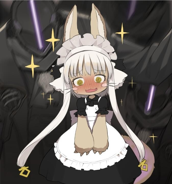 Bondad Gives Nanachi a Cute Outfit. join list: MonMusuManiacs (1579 subs)Mention History join list:. >actual full length skirt This pleases me.