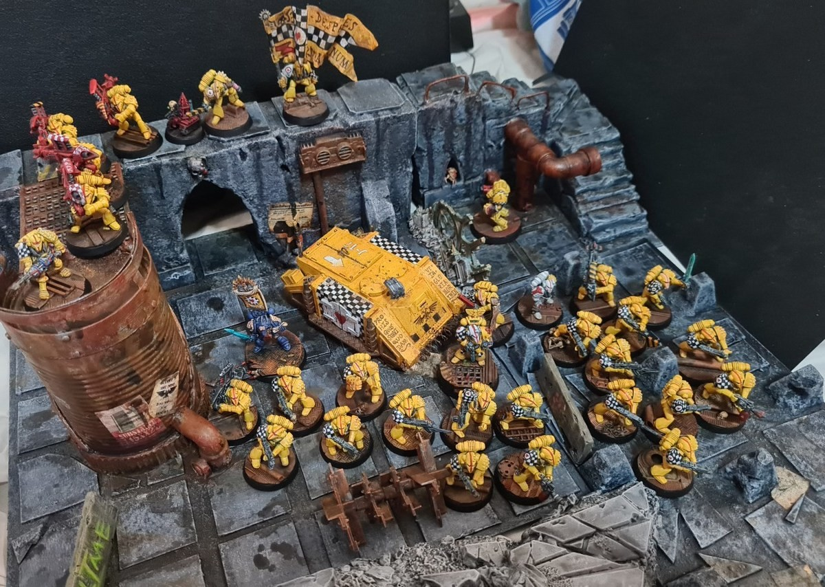 """Classic Lamenters models. .. """"For those we cherish, we die in glory!"""""""