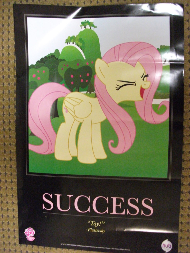 Comic-Con Handouts 2. When I was given one of these I let out a SQUEE Couldn't stop smiling for 5 minutes. (Fluttershy is best pony).. I cosplayed! A lady from Hasbro actually took my picture and put it up on the My Little Pony Facebok page, I'm the Pinkie.