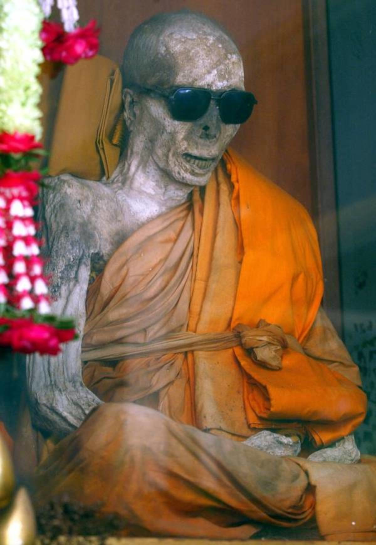 """Cool Lich. Would you use a Buddhist Lich as an enemy in your campaign?.. I don't know enough about Buddhism to say, but an undead person trying to bring """"peace"""" to everyone through the relief and blissful absence that is de"""