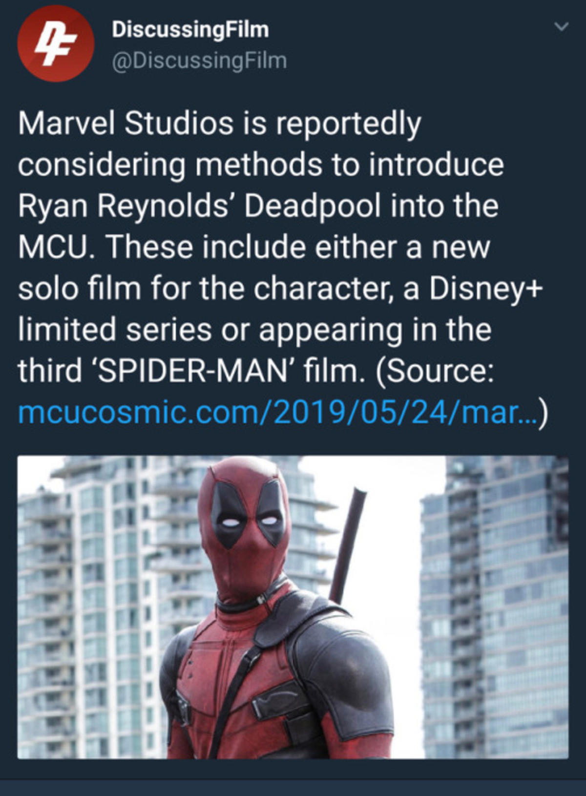 Deadpool Meets Spidey?. .. How are they going to approach an R rated character? Also, what about the xmen.
