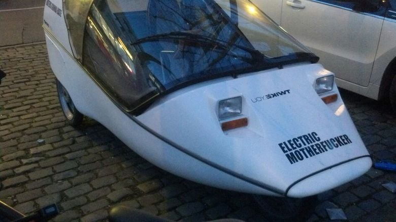 Electric Motherer. .. So it's a vibrator?