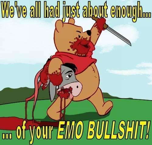 emo bs. .. the donkey was the coolest one though
