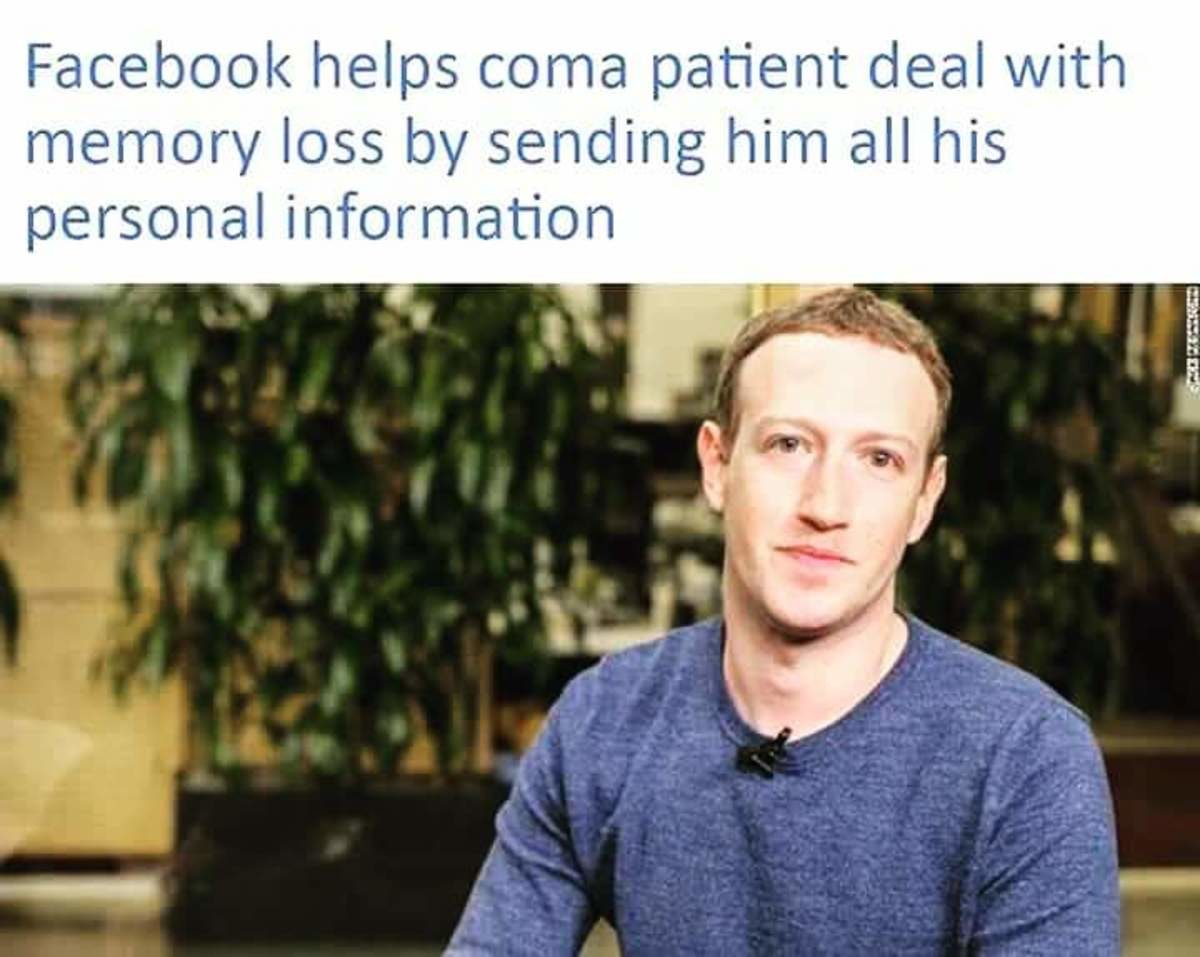 """facebook is great. . l"""",' """" ' loss by sending him all his personal information. Say what you will about the guy, but I loved his performance in Star Trek"""