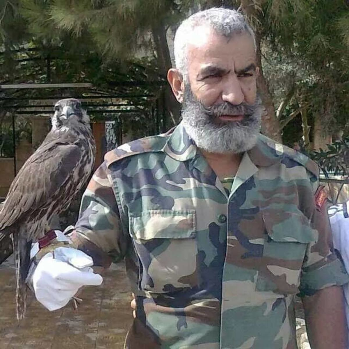 Issam. The Syrian Army's brigadier general Issam Zahreddine was killed today by a mine planted by daesh. General Zahreddine was a controversial figure, accused