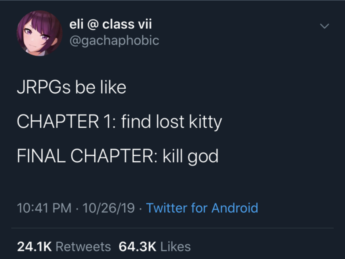 Kil god. .. In Epic Battle Fantasy 4, the kitty IS God. Pretty good game.