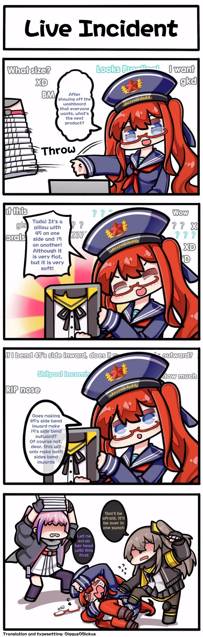 Live Incident. liveincident/ join list: GirlsFrontline (594 subs)Mention Clicks: 118891Msgs Sent: 441637Mention History.. A troubling (yet one dimensional) issue.
