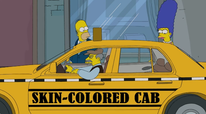 Lol. Season 24, Episode 17.. That's racist, which is why I love it