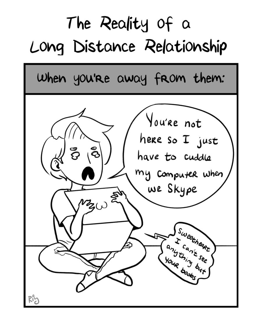 Long Distance Relationships. .. yes, i know this feel.