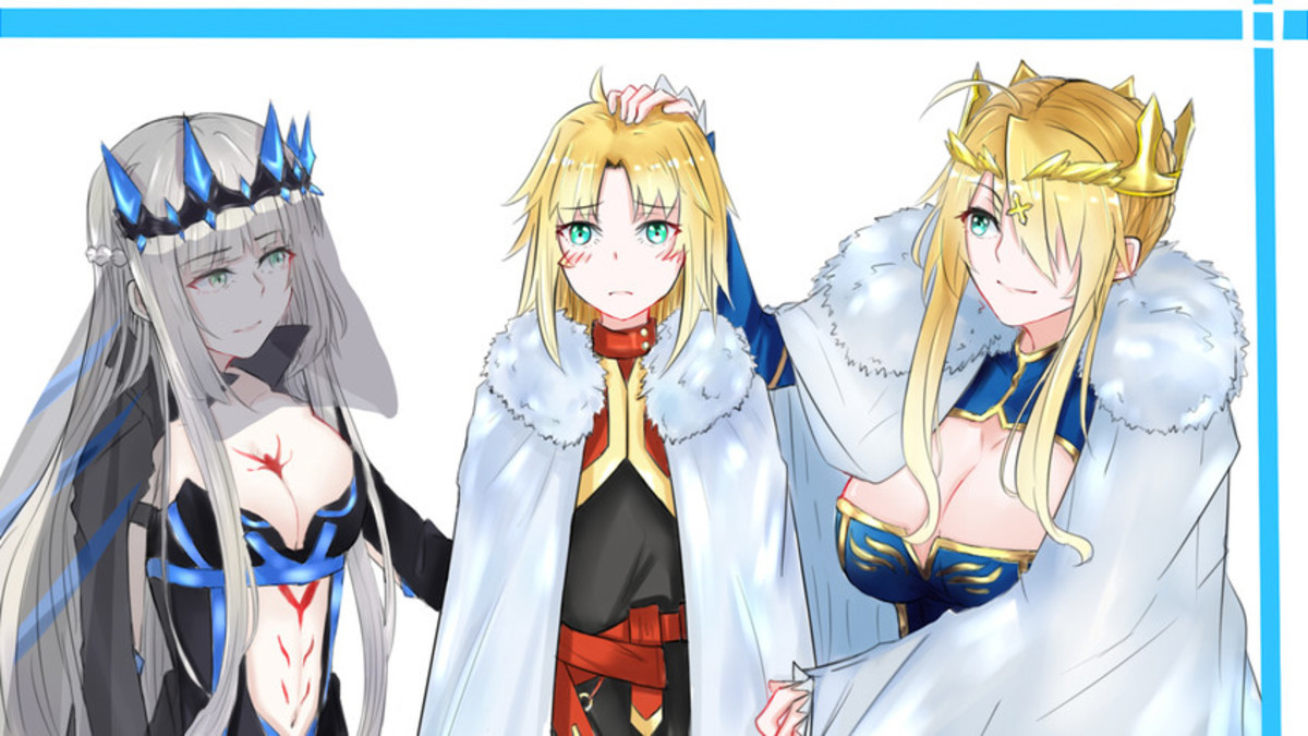 Mama,Mordred, and Papa Pendragon. join list: Lewds4DHeart (1600 subs)Mention History join list:. Do they have a brother?