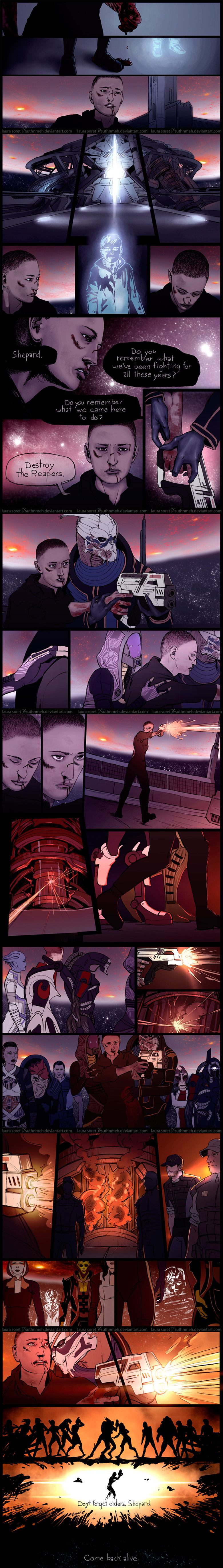 Mass Effect - Ending Feels. Artist's main page: Complied by me Enjoy with the sound of: .. I cried. that was awesome.