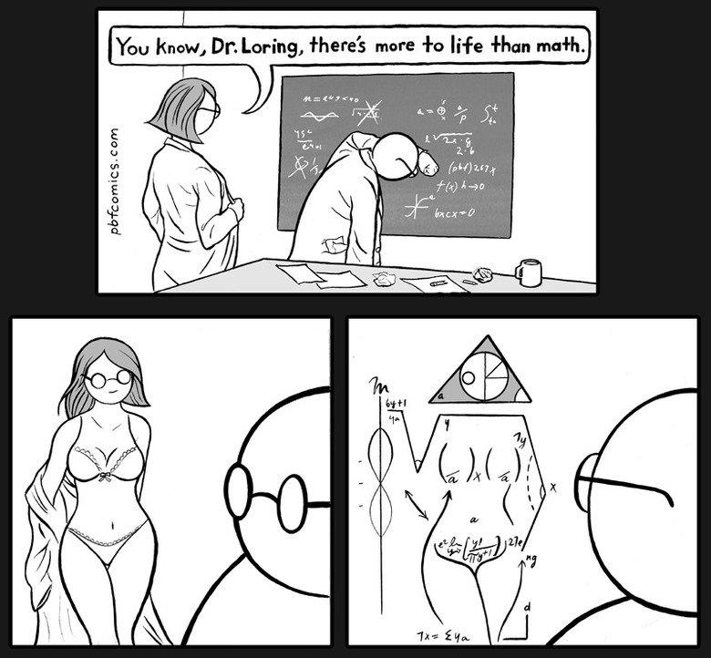 Math is life. .