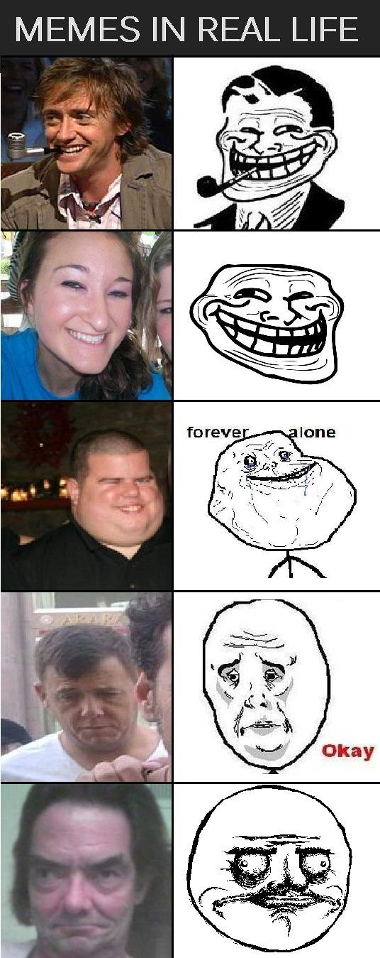 Memes in Real Life. Moar??. IN REAL LIFE. Did somebody say real life troll face?