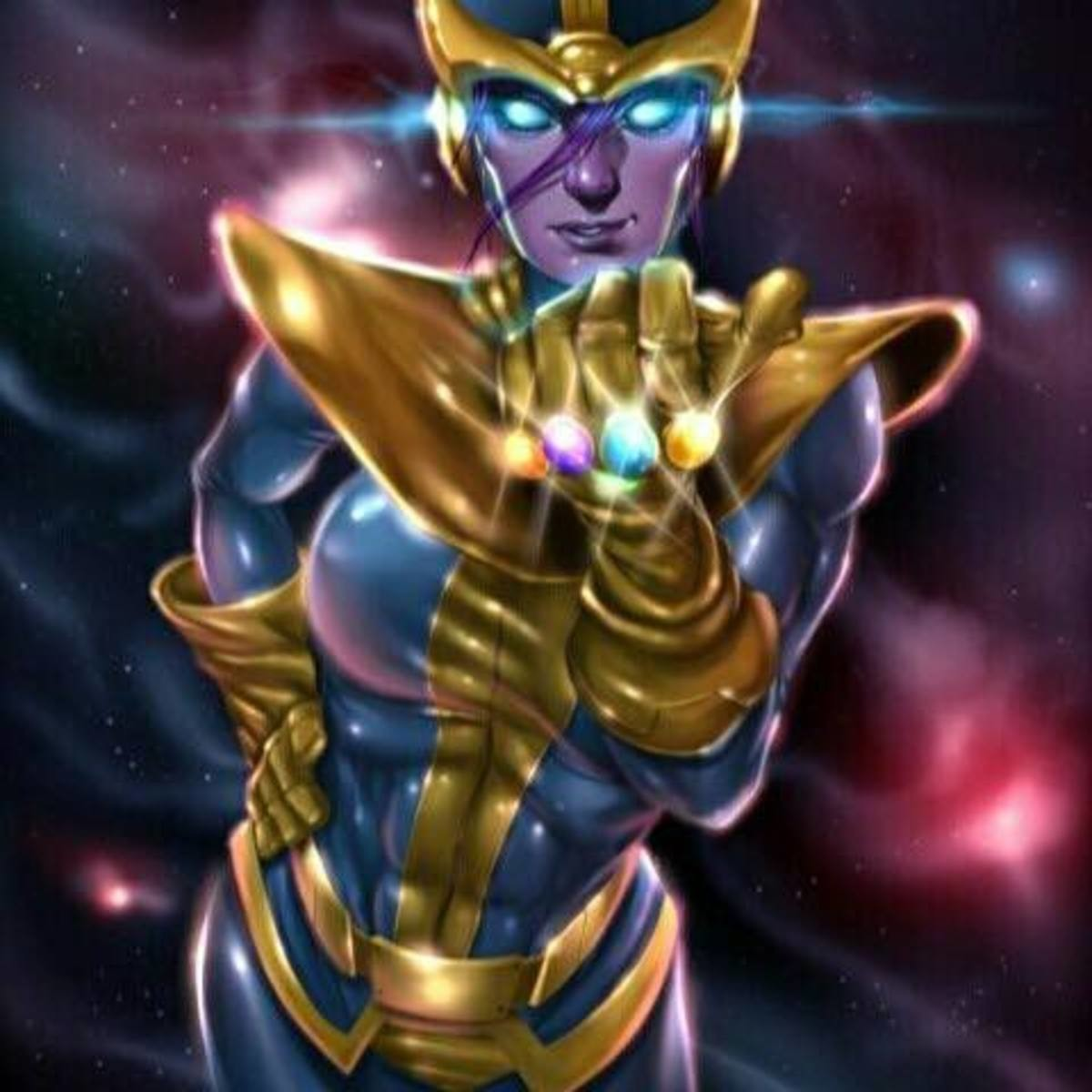 Mommy Thanos?. join list: FitnessFappers (1663 subs)Mention History join list:. A reminder that Thanos used the gauntlet to make a female version of himself to make Death jealous.