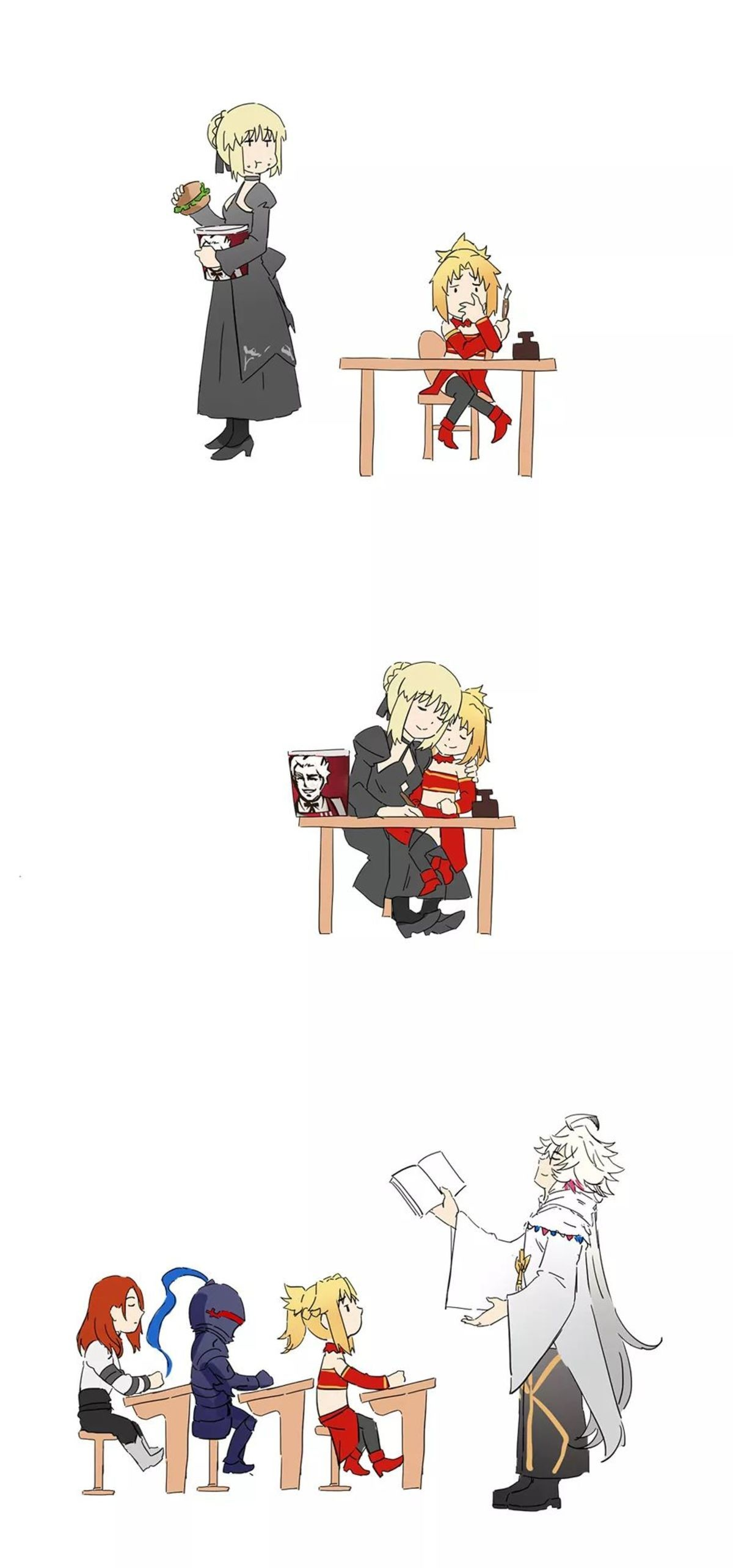 Mordreds Daily Life. illust.php?mode=medium&illustid=67049435 join list: SmolHol (1464 subs)Mention History join list:. What, is that saber's kink