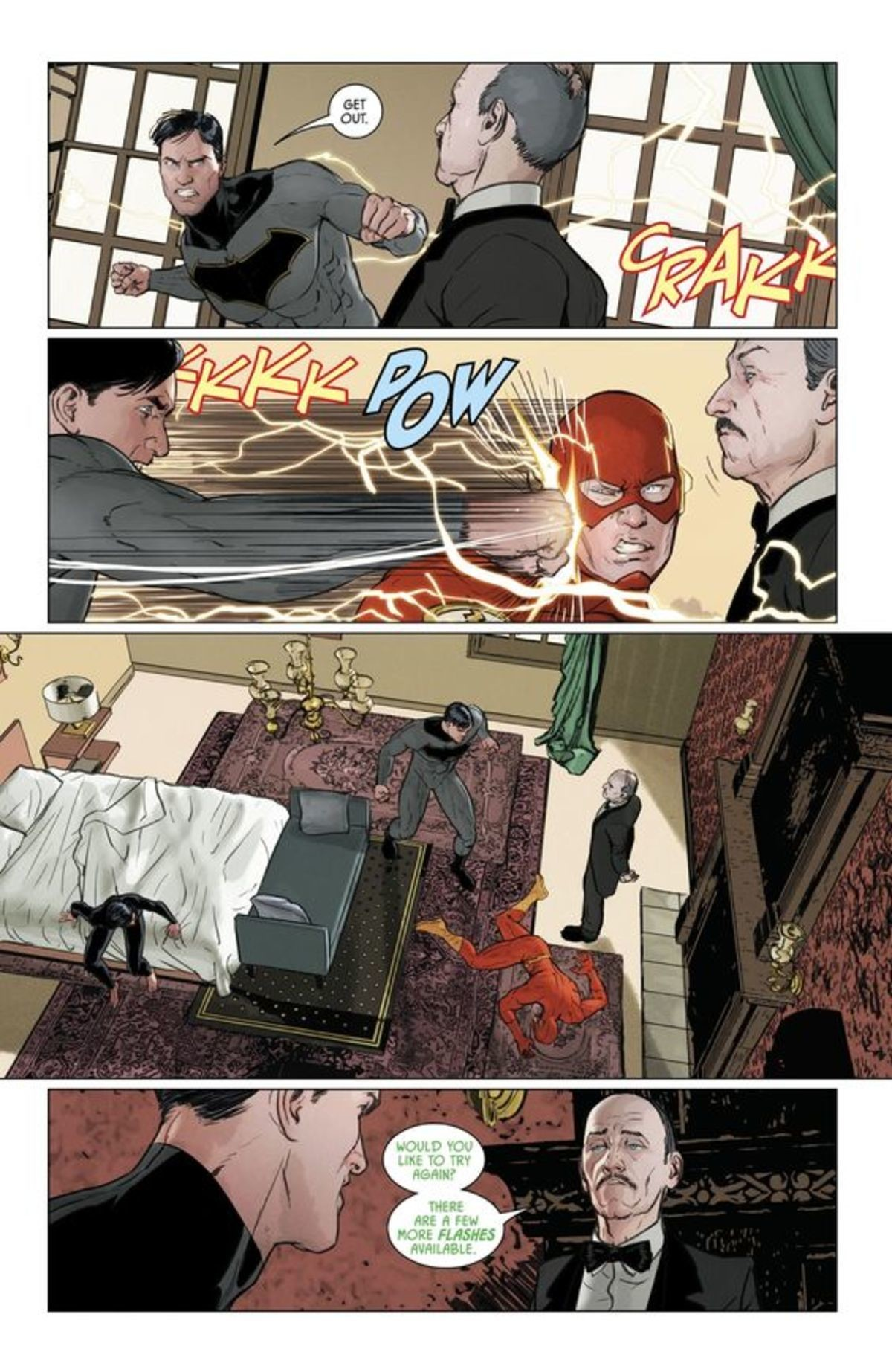 nostalgic inquisitive Pig. Barry is too much of a good person, that's what's going to get him killed in every timeline/universe... Why would Bruce do that? It's because of Poison Ivy
