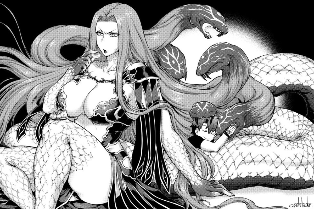 Protective Gorgon. Source join list: Fate (421 subs)Mention History join list:. Thick coils and soft hair snakes. Also she is very sweet and kind. So love her.