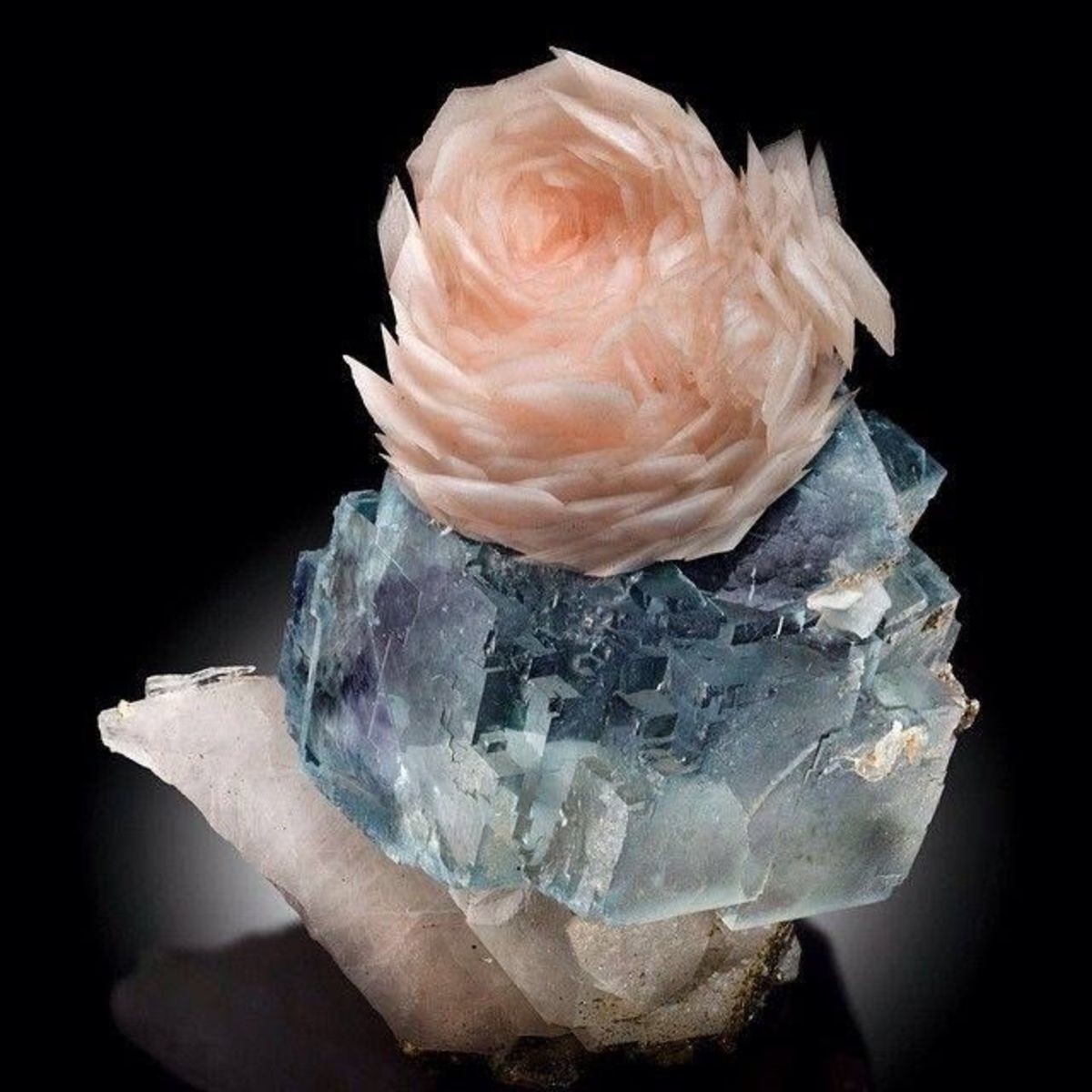 Rose Calcite Formations. .