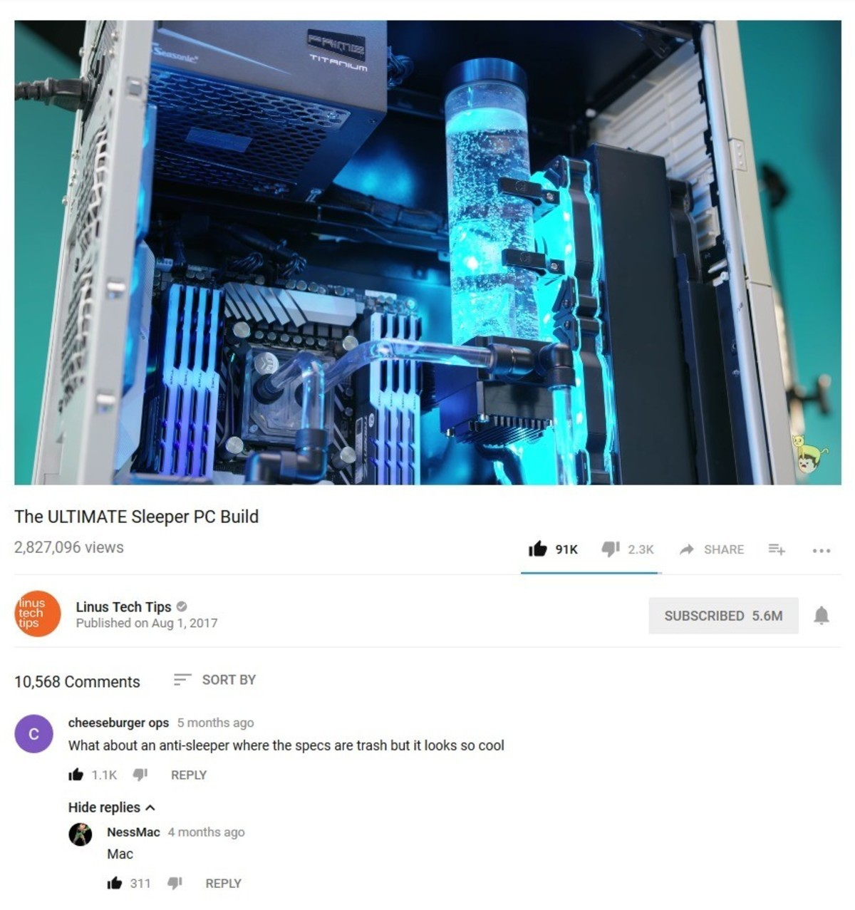 """Sleeper. sleeper PC: computer that looks like 90's/ on the outside but is actually a fast as beast computer.. What the actual is the point of a """"sleeper"""" computer?"""