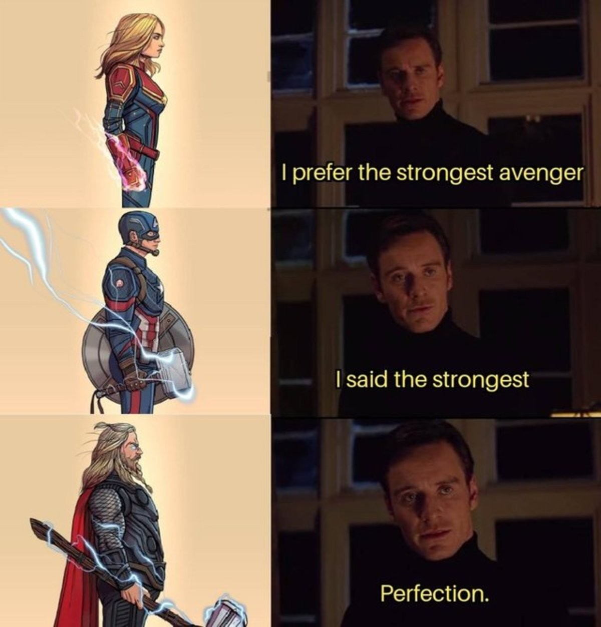 snorts avenger. .. Fat Thor was the most relatable avenger, I'm not even fat, it just spoke to me.