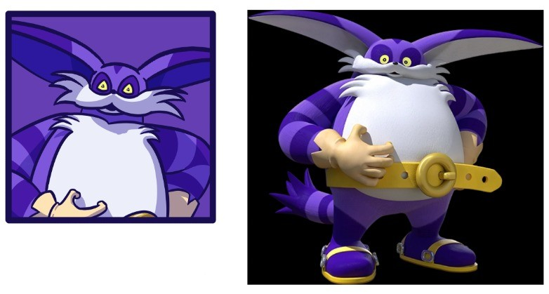 Sonic Heroes Project: Big. join list: TheArtOfTheGoose (7 subs)Mention History You know, I never realised until now how much he looks like Dr.Eggman if you cove