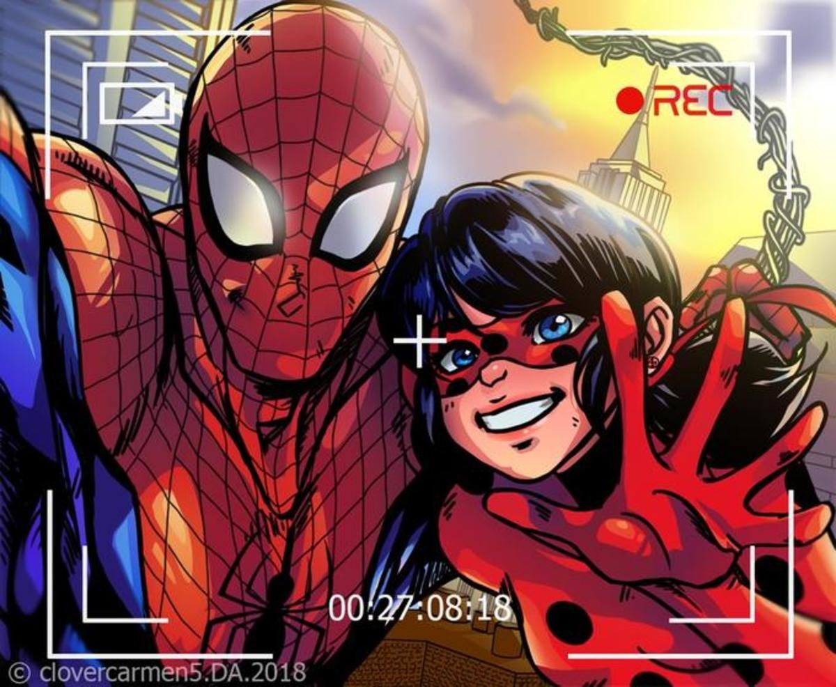 Spider-man. join list: Edderkoppen (71 subs)Mention History.. I'm a simple man, I see Miraculous Ladybug, I press like