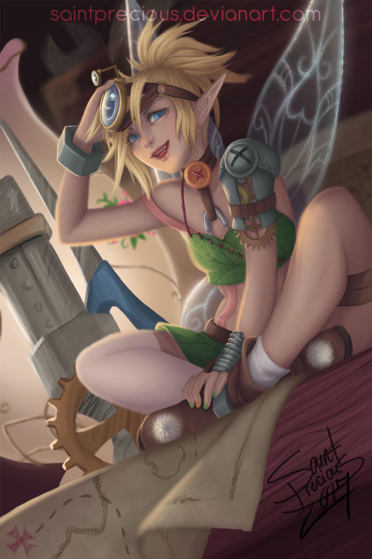 Steampunk Tinkerbell. .