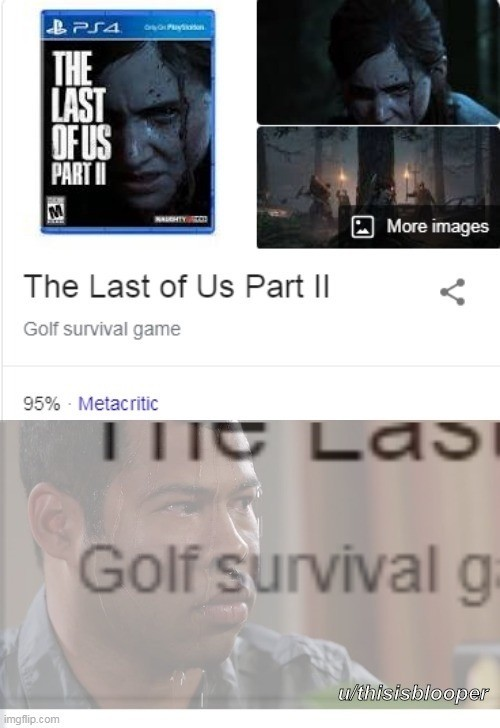 Survival. .. I guess that's why they were going for the lowest possible review score