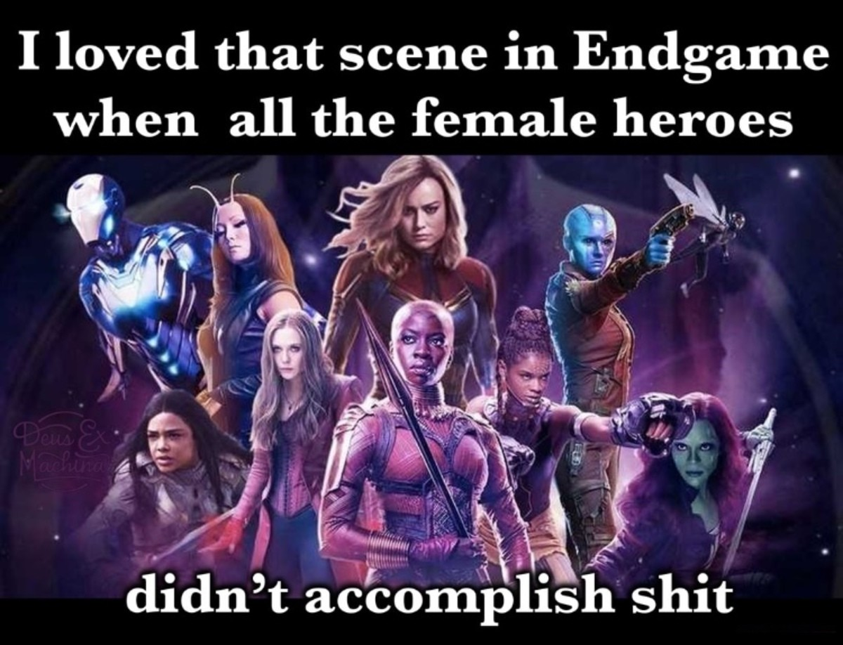 They even had 'the cool walk'. .. When this happened, everyone in the theater laughed. I think it accomplished the exact opposite of what they wanted it to do.