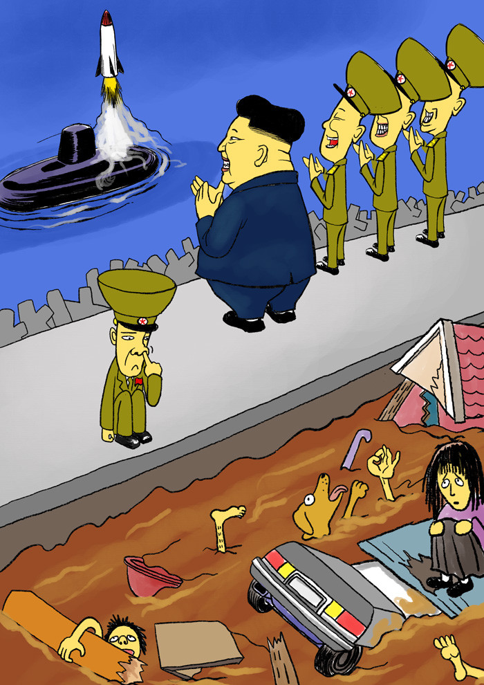 To become the worst dictator on earth. North Korea conducted its fifth underground nuclear test despite threats of more sanctions from the United Nations. The c