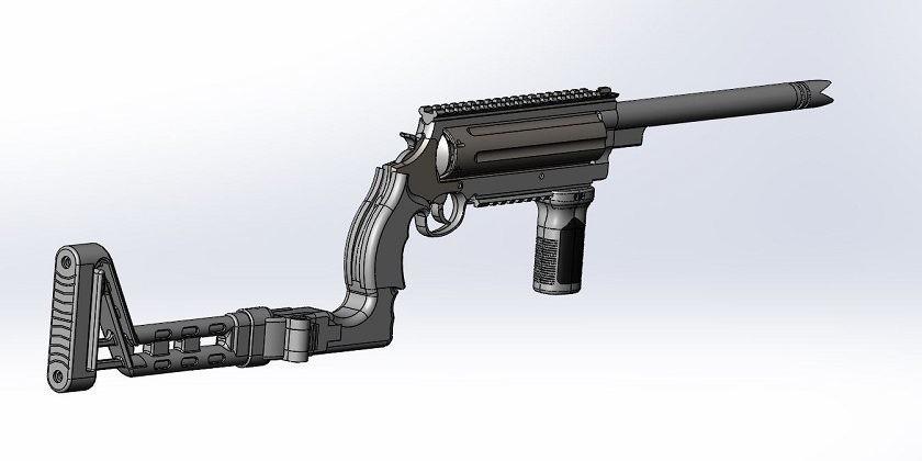 Ultimate Doomsday Rifle. http://taskandpurpose.com/ultimate-doomsday-rifle-shoots-21-different-calibers-ammunition/?utmsource=facebook&utmmedium=social&