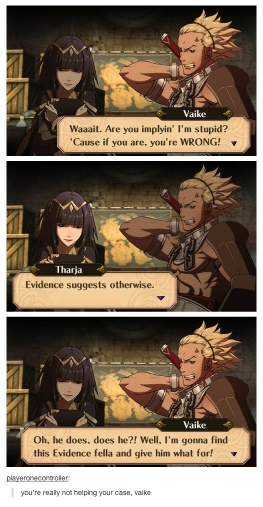 Vaike. .. Might be dumber than a box of nails, but he'd be a decent dad.