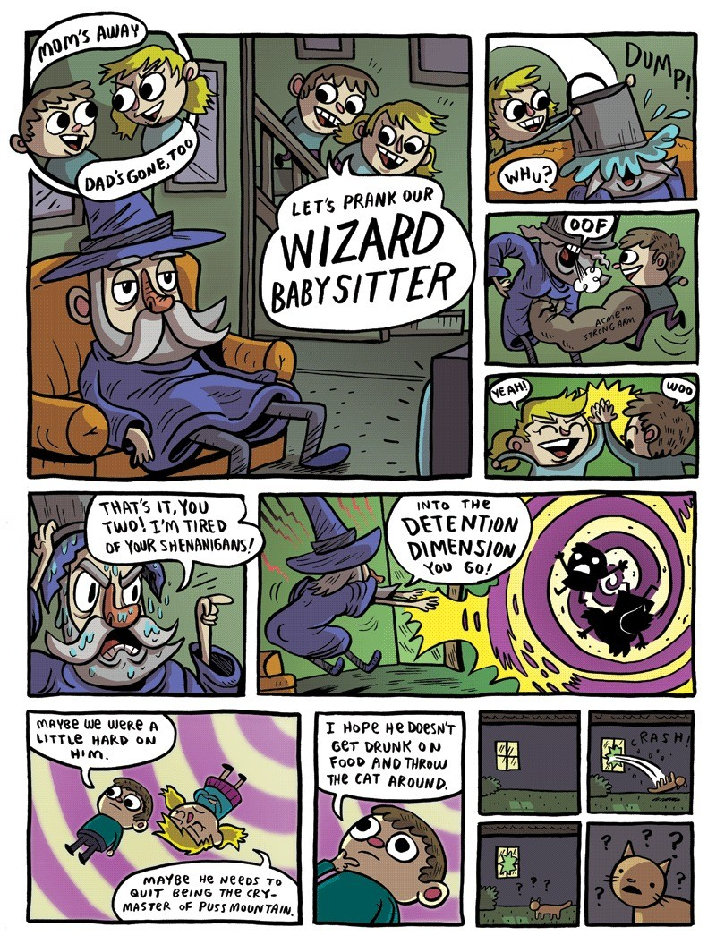 Wizard Babysitter. join list: DnDStuff (1360 subs)Mention History.. I see potential for this one.